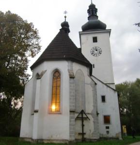 Kirche in Cetviny