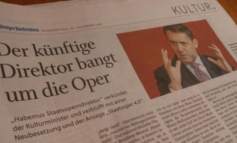 Sorgen um eine Kunstsparte: Österreichs Kulturpolitik trifft eine kluge gegensteuernde Personalentscheidung